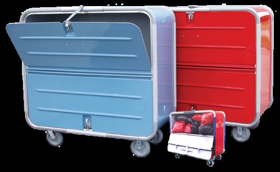 2-Door-Fiberglass-Cart
