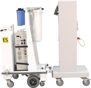 Cart with Fresenius- Straight On