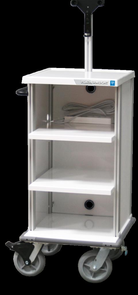 Endoscopy Room Layout: Single Short Endoscopy Cart