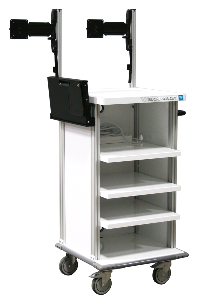 Endoscopy Room Design: Single Short Endoscopy Cart