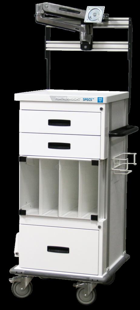 Endoscopy Room Design: Single Short Endoscopy Cart