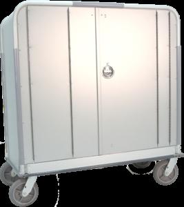 Enclosed Supply Cart