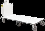 Ergo-Express motorized platform cart with extended deck - back