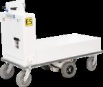 Ergo-Express platform cart with custom deck
