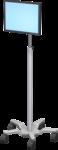 Vesa Mounting Plate- No Opacity